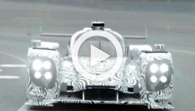 Vídeo: el Porsche LMP1 calienta motores para Le Mans 2014