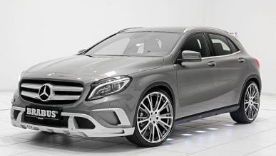 Mercedes GLA Brabus: un 'bicho' de 400 CV