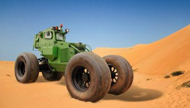 Un tanque que ejerce menos presión al suelo que un conejo