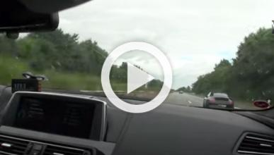 Un BMW M6, a 301 km/h por la autopista