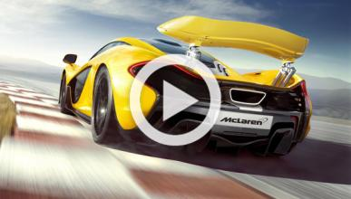 Un McLaren P1 y un Bugatti Veyron, ¡cara a cara!