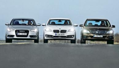 Comparativa Audi A6, BMW Serie 5 y Mercedes Clase E