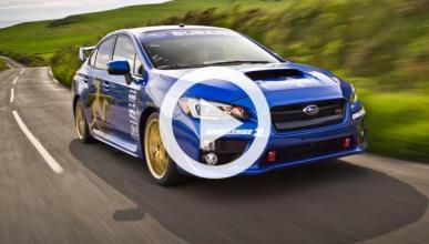 Subaru WRX STI, ¡nuevo récord en la Isla de Man!