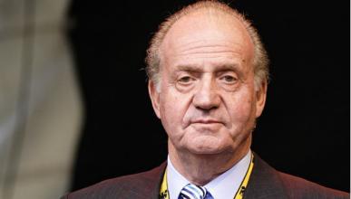 Juan Carlos, el único rey que montó en un biplaza de F1