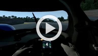 Vuelta rápida virtual al Circuito de La Sarthe de Le Mans