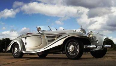 A subasta el Mercedes 540K del lugarteniente de Hitler