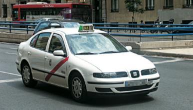 Huelga de taxistas en Madrid contra el coche compartido