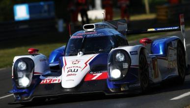 Toyota consigue la pole en Le Mans por delante de Porsche