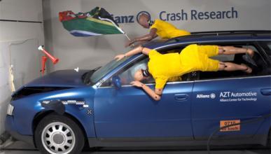 ¡Los peligros de celebrar el Mundial en el coche!