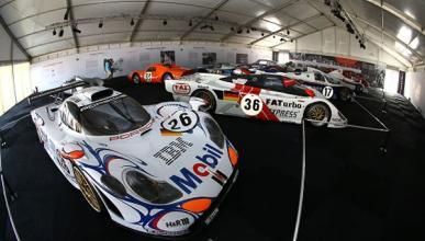 La exposición que Porsche ha montado en Le Mans