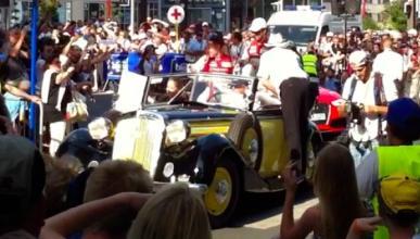 Drivers Parade: primera fiesta para el público de Le Mans