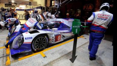 Toyota lidera la noche en las 24 Horas de Le Mans 2014