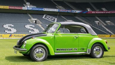 Así de futbolero era el Volkswagen Escarabajo World Cup '74