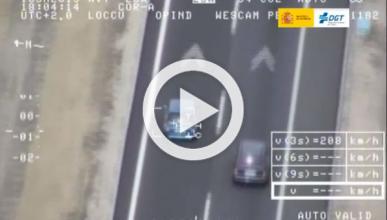 Exceso de velocidad, infracción más común entre furgonetas
