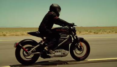 La primera Harley-Davidson eléctrica ya rueda en Nueva York