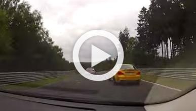 Un Focus 'saca los colores' a un BMW Serie 1 en Nürburgring