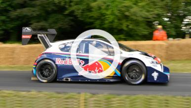Sebastien Loeb, ganador del Goodwood Festival of Speed 2014