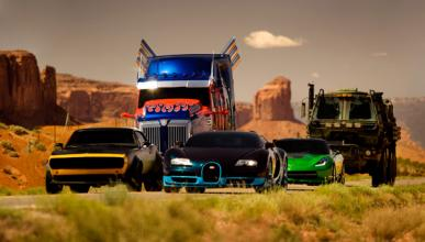 Los coches de 'Transformers 4'