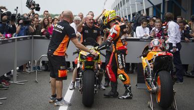 Aleix Espargaró, a las puertas del podio en GP Holanda 2014