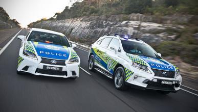 Tecnología Lexus Hybrid Drive para la Policía