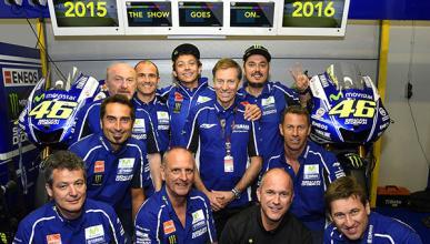 Yamaha anuncia la renovación de Valentino Rossi hasta 2016