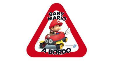 ¡Baby Mario a bordo!