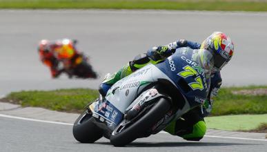 Clasificación Moto2 GP Alemania 2014: Aegerter primero