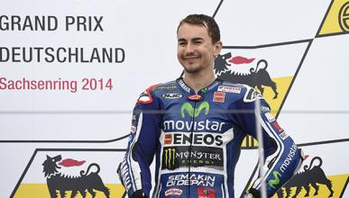 Lorenzo, satisfecho con su tercer podio del año en Alemania