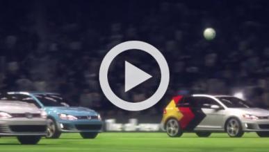 Alemania recrea la final del mundial con el Golf GTI