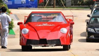 La peor réplica de un Ferrari es obra de estudiantes chinos