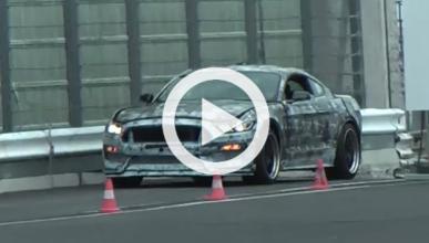 Cazan al nuevo Ford Mustang Shelby GT350R en Nürburgring