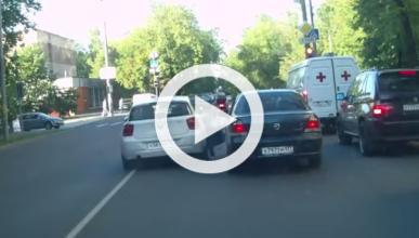 Un conductor atropella a otro tras una discusión