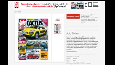 12 números de AUTO BILD por 5,70 euros