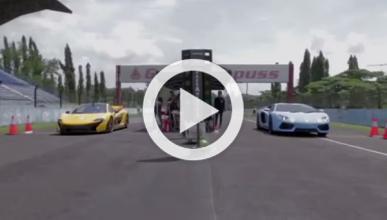 McLaren P1 vs Lamborghini Aventador: un pique de altura