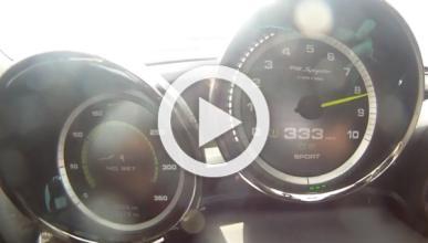 De 0 a 330 km/h en un Porsche 918 Spyder