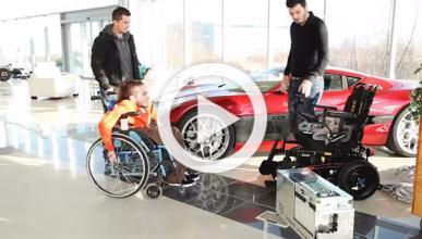 Adaptan la batería del Rimac Concept One a silla de ruedas