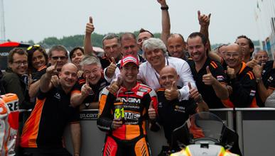 Aleix Espargaró, el mejor piloto Open MotoGP 2014