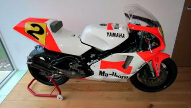 125.000 euros por la Yamaha YZR 500 de Wayne Rainey