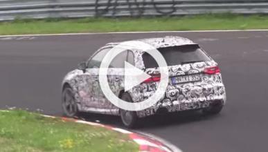 Audi RS3 2015, pillado en el circuito de Nürburgring