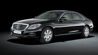 Mercedes S600 Guard - lateral delantero