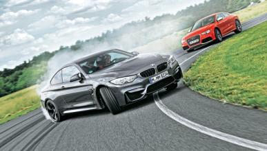 Comparativa: Audi RS 5 contra BMW M4