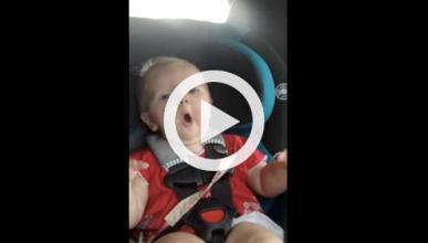 Vídeo: niña alucina en un coche con Katy Perry