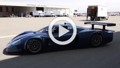 Vídeo: sube a bordo de un Maserati MC12 Corsa