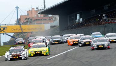 DTM 2014, carrera Nürburgring: Wittmann gana y es más líder