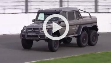 Vídeo: el monstruoso Mercedes G63 AMG 6x6, en circuito