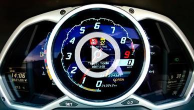 Vídeo: 0-200 km/h en un Lamborghini Aventador Roadster