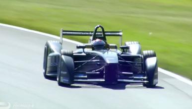 El primer ensayo de carrera de la Fórmula E en vídeo
