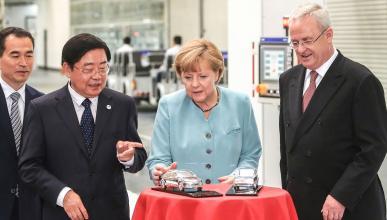 El negocio automovilístico del Gobierno alemán