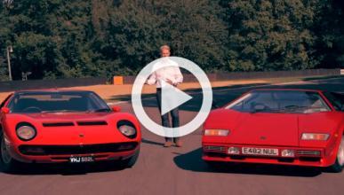 Vídeo: Lamborghini Miura contra Lamborghini Countach