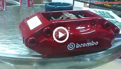 Una empresa china que falsifica frenos Brembo y AP Racing
